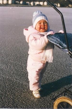 Ik als baby