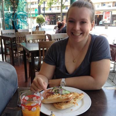 Yay! Maandag gingen Shirley en ik weer gezellig samen lunchen!