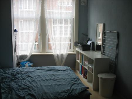 Mijn slaapkamer-gedeelte.