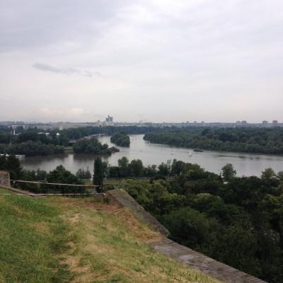 Nog meer uitzicht vanaf het fort.