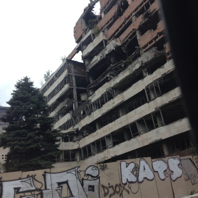 Ai... tja, dit is ook Belgrado...