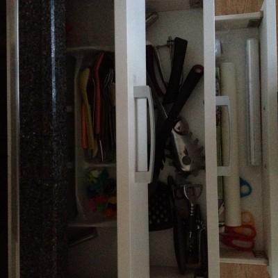 De lades zijn opgeruimd. Eindelijk!