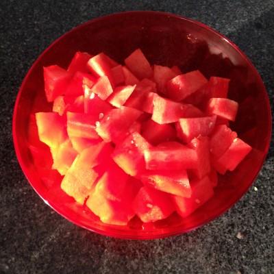 Valt het iemand al op hoe verslaafd ik ben aan watermeloen?