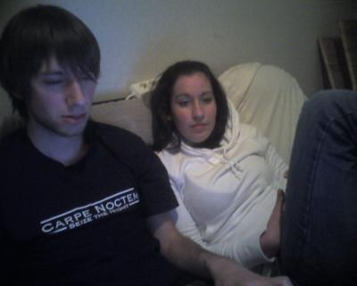 Eén van de weinig foto's waarop we nog geen vriendje-vriendinnetje waren :-)