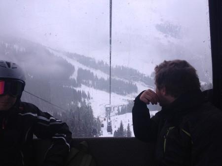 Superleuk om na ruim 10 jaar weer eens te skiën. Al vond ik het stiekem wel eng, met een 12-weken oude foetus in mijn baarmoeder.