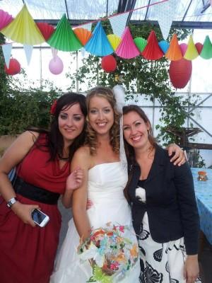 Aaaw, deze foto kwamen we ook tegen op Maran zijn telefoon. Gemaakt tijdens die lieve Es haar trouwdag, alweer bijna 2 jaar geleden!