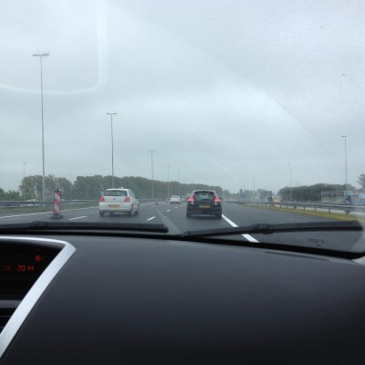 Op naar Rotterdam waar we Nederland-Argentinië bij mijn schoonouders gingen kijken.