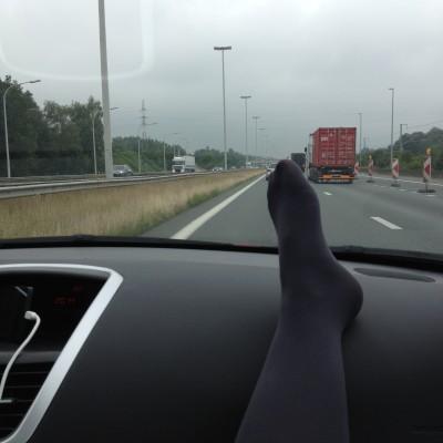 Aah vrijdag dan. 's Morgens op weg naar Zwijndrecht voor een kraamvisite bij vrienden.