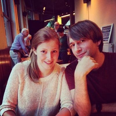 Vrijdagavond gingen we uit eten met Maran's zusje en haar vriend. Zij wonen sinds 2 (of 3??) jaar in Antwerpen en wisten dus de leukste restaurantjes.
