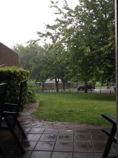 Aaah, regen! Heerlijk!