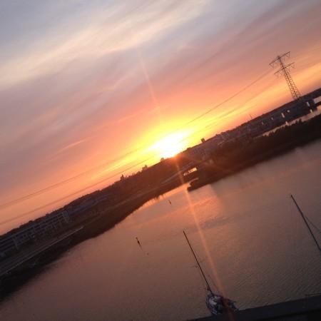 Hele mooie sunset weer.