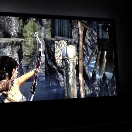 Verder speelden Maran en ik veel Tomb Raider. We vinden het heerlijk om 's avonds op de bank te kruipen met een spel dat ook nog een verhaal is.