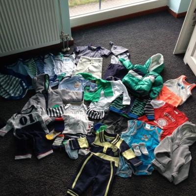 Heel, heel, heel veel kleertjes!