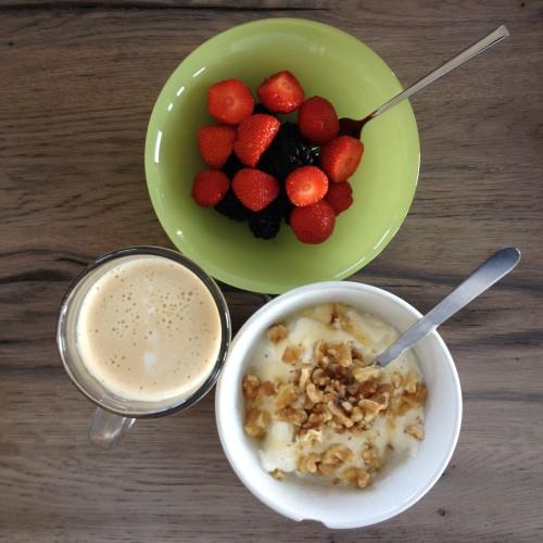 Even een foto van een lekker ontbijtje.
