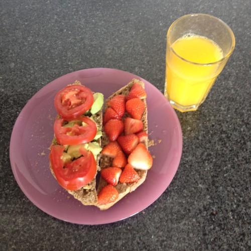 Ik maakte deze lekkere lunch!