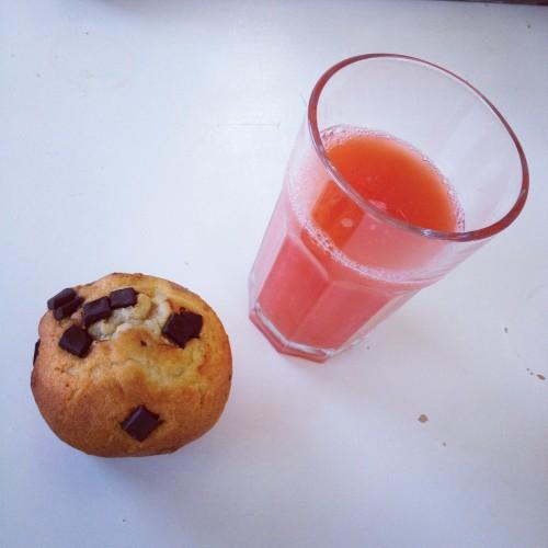 Tja, als de muffins bij Albert Heijn voor bijna niks verkocht worden, dan moet ik er wel een paar kopen, toch?
