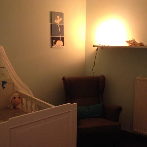 's Avonds wilde ik toch nog even spieken in onze babykamer. Ik heb gisteren betere foto's gemaakt, dus zal binnenkort even een update geven! :-)