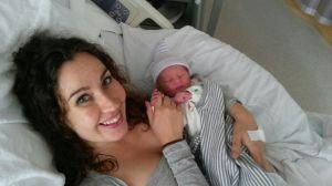 En daar was het resultaat van negen maanden zwangerschap :-)