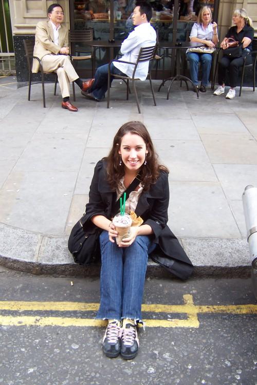 In 2007 was ik voor het eerst in Londen. En dronk ik voor het eerst iets bij Starbucks.