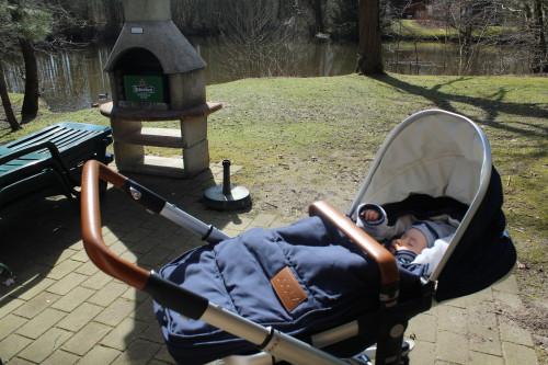 En heerlijk geslapen in het zonnetje.