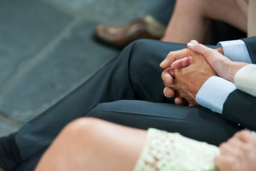 Och, en deze <3 Van de handen van mijn ouders. Zo lief! Onze ouders zijn heel belangrijk voor ons en ze hebben een belangrijke rol gespeeld in de bruiloft en de aanloop er naartoe.