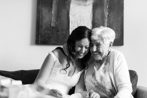 Of deze, van mijn oma en mij. Omdat ik hem zo ontzettend lief vind!